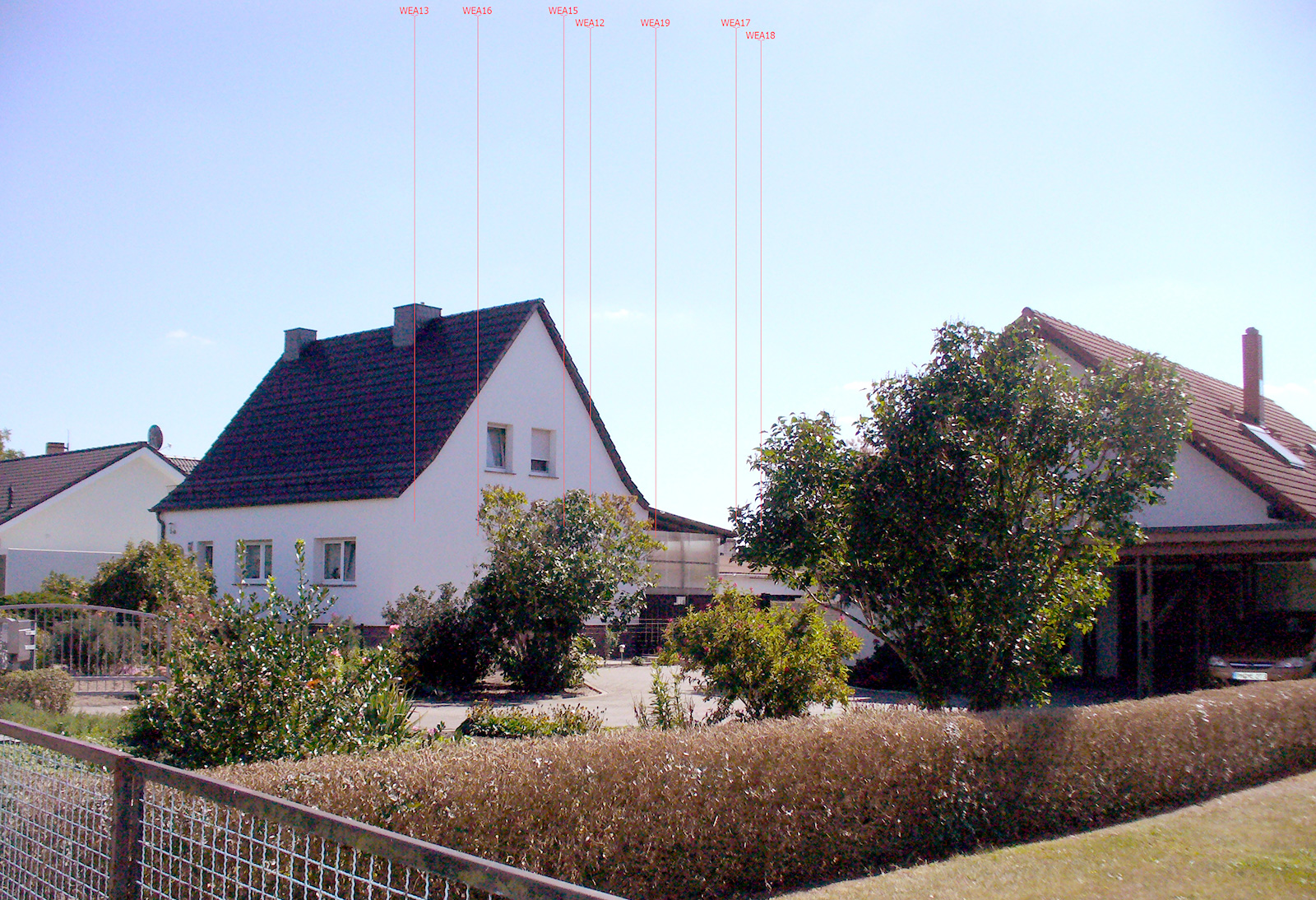 Göhlsdorf Position 1 Visualisierung